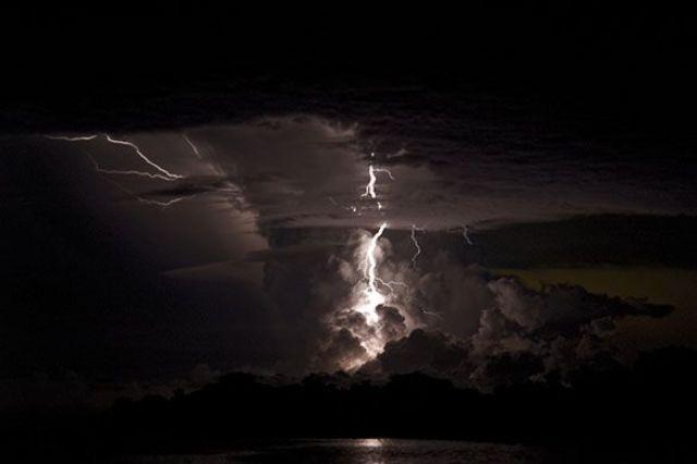 Catatumbo Lightning, Lago de Maracaibo Catatumbo River Region, Venezuela