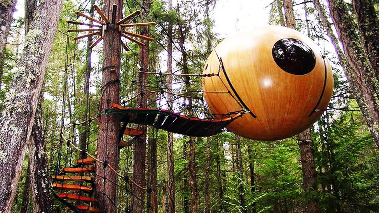 Free Spirit Spheres, Vancouver Island, British Columbia, Canada