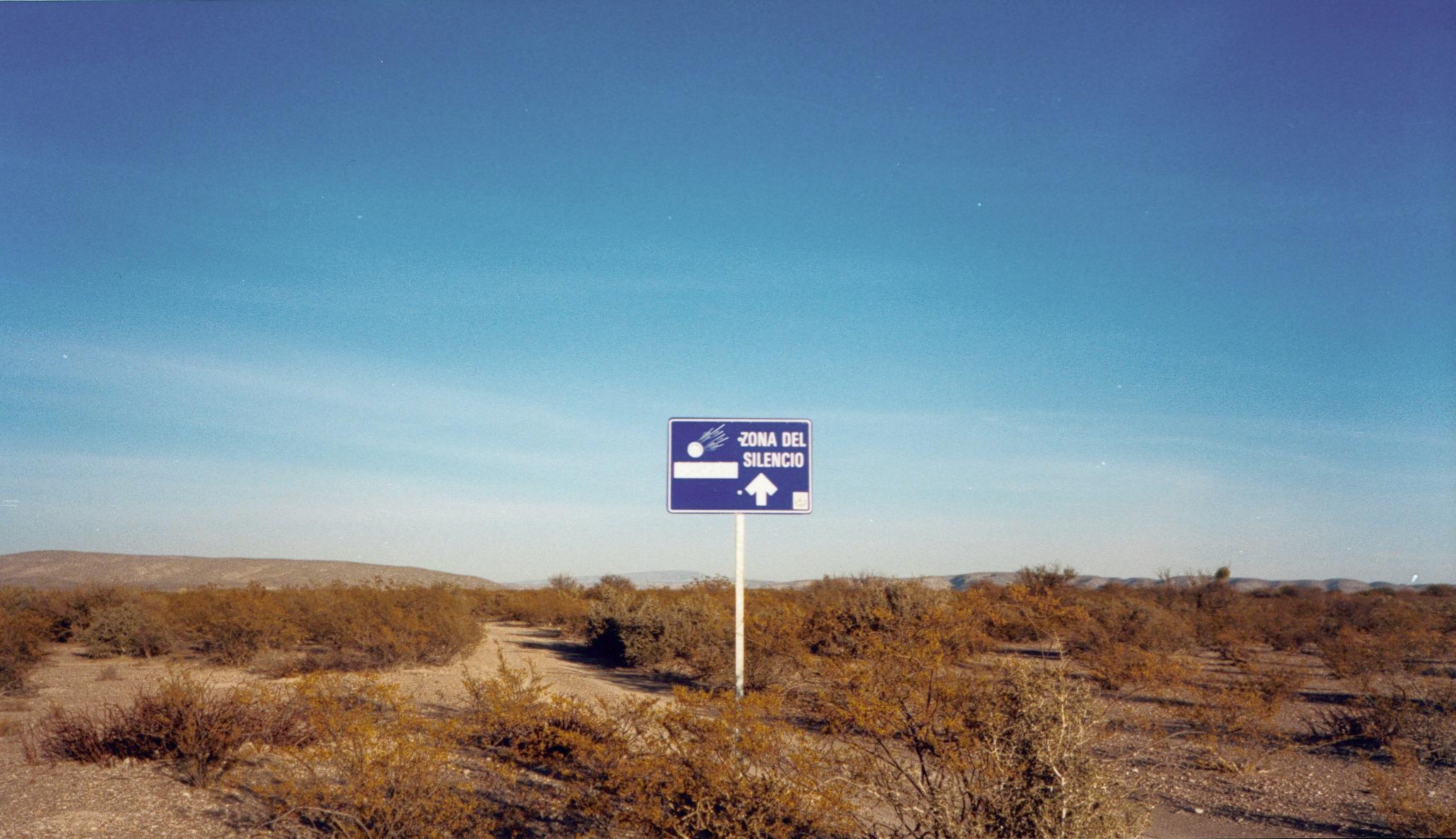 Mapimi Silent Zone, Bolson de Mapimi, Mexico