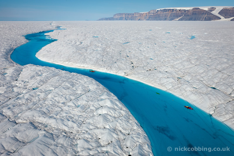 Blue River-Greenland