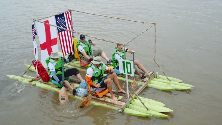 Amazon River International Raft Race, Peru