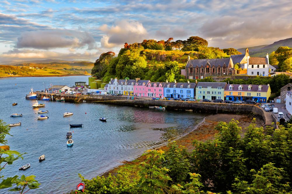 Portree, Scotland