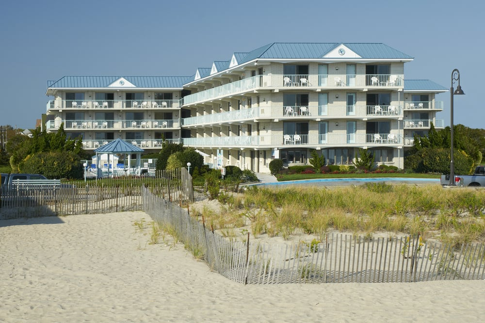 Sea Crest Inn, Cape May, New Jersey – a family-friendly affordable beachfront hotel!