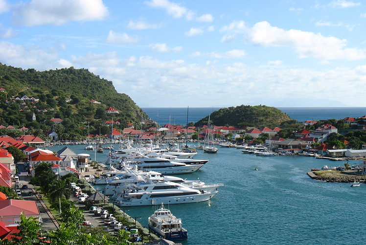 St. Bart's marina