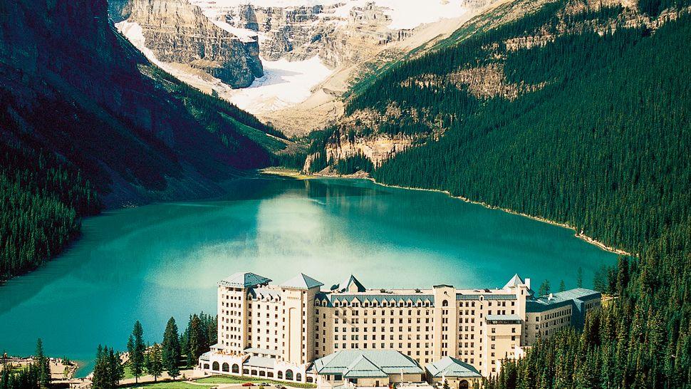 The Fairmont Chateau Lake Louise, Alberta, Canada