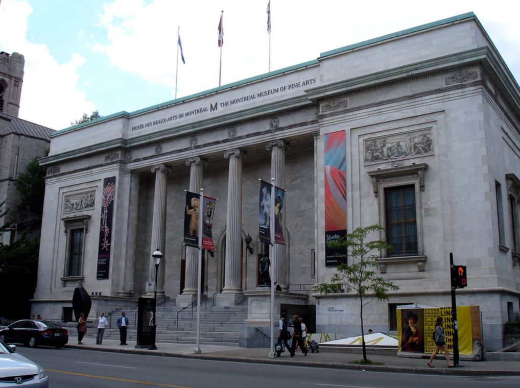 Visit the Montreal Museum of Fine Arts