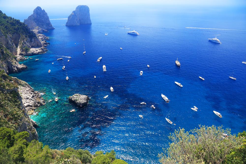 Capri, Italy is a paradise island