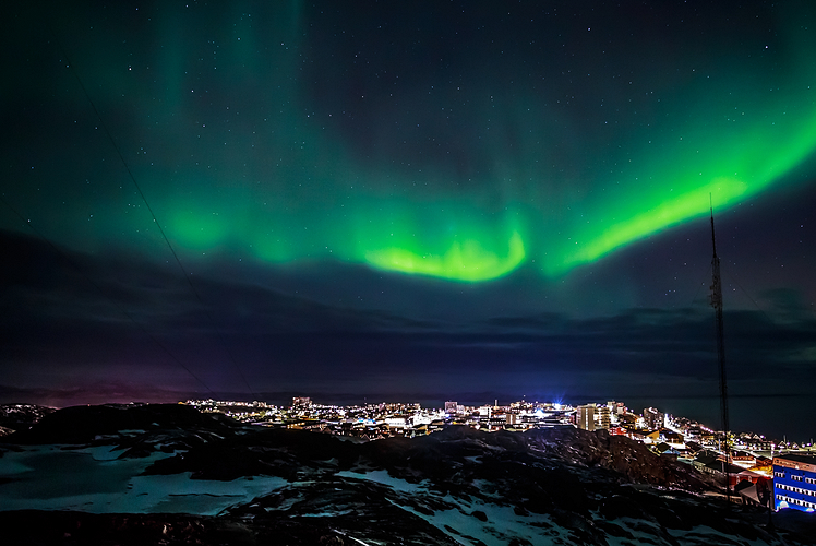 Get in touch with nature in Greenland
