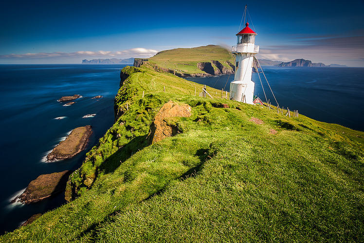 Head to the Faroe Islands for a peaceful vacation