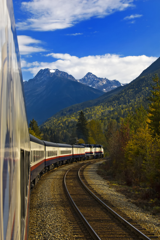 Hop on the Rocky Mountaineer in Canada