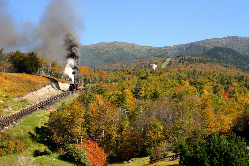 New Hampshire - Mount Washington Cog Railway is one of the Best Places to Travel By Train