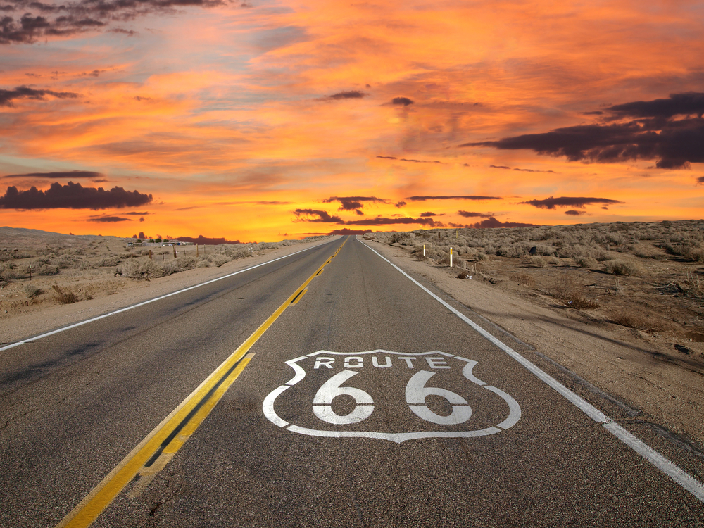 Route 66 is one of the Ultimate Road Trips in america