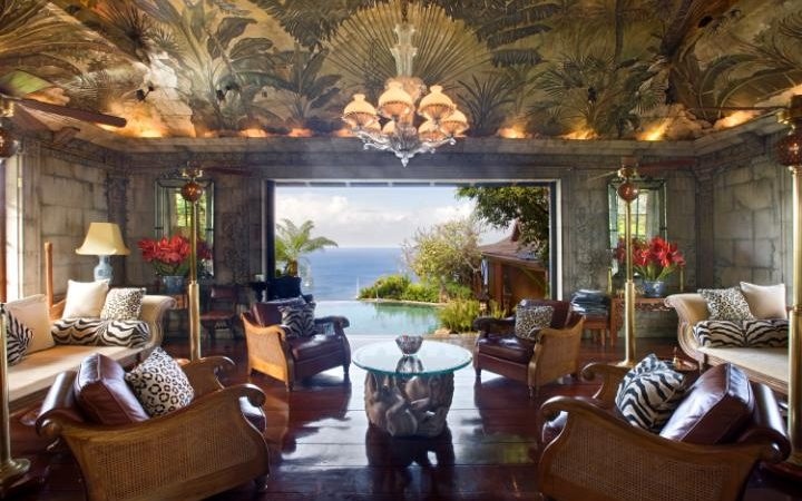 David Bowie's Mandalay, Mustique is one of the Celebrity Resorts You Can Stay In