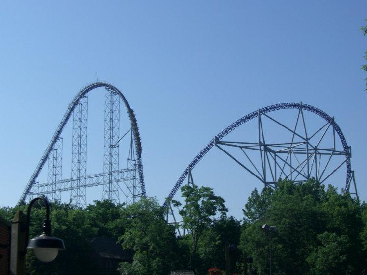 Millennium Force, Cedar Point, Sandusky, Ohio