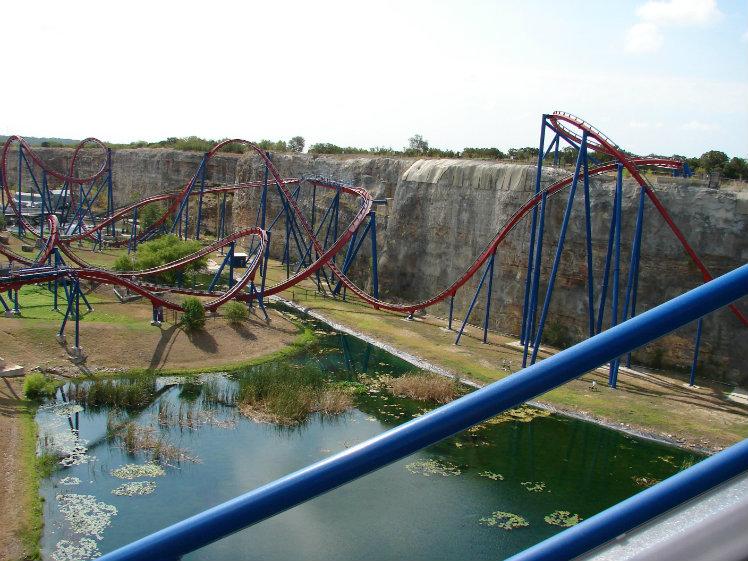 Superman Krypton Coaster, Six Flags Fiesta Texas, San Antonio, Texas