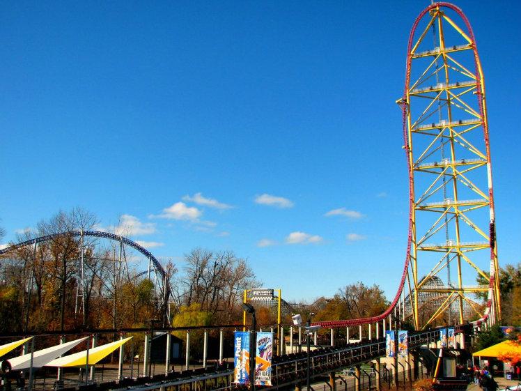 Top Thrill Dragster, Cedar Point, Sandusky, Ohio