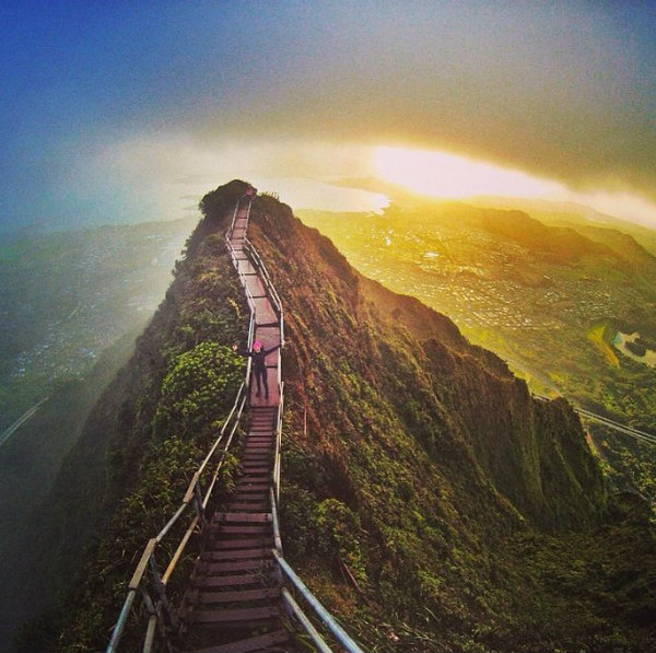 Trek up the stairway to heaven