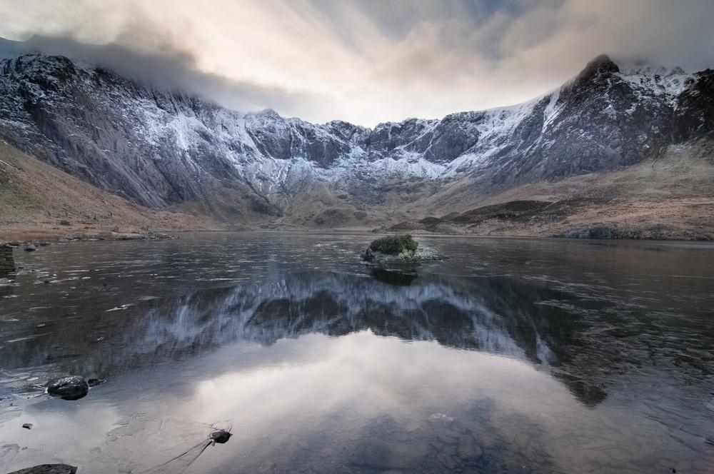 United Kingdom North Wales panorama