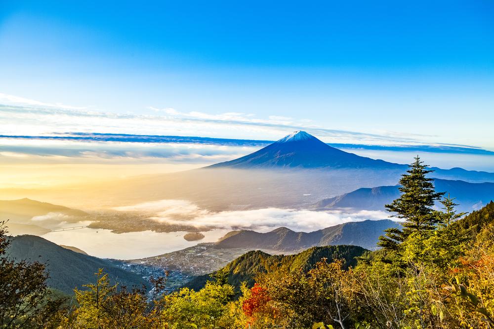Gawp at the Legendary Mt. Fuji (Climbing Not Essential - Phew!)