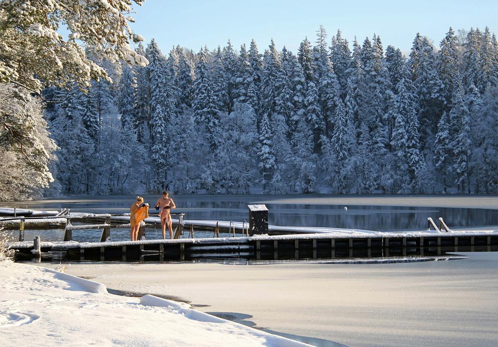 Go Ice Swimming, Finland