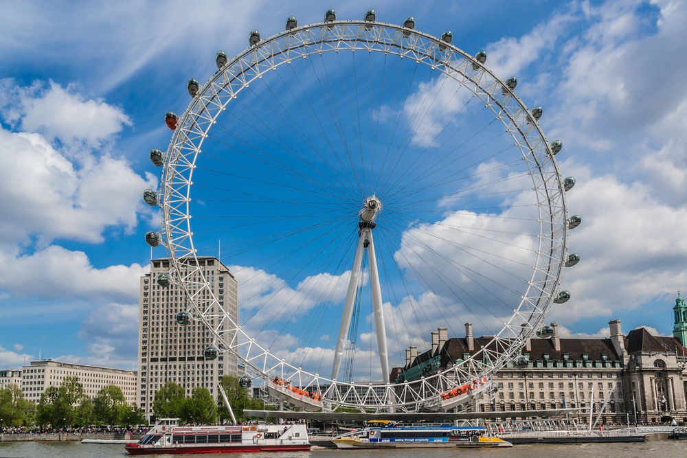 Ride the London Eye, United Kingdom