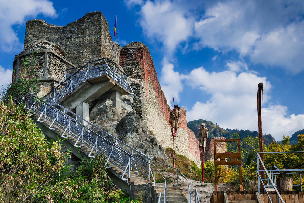 The Poenari Castle