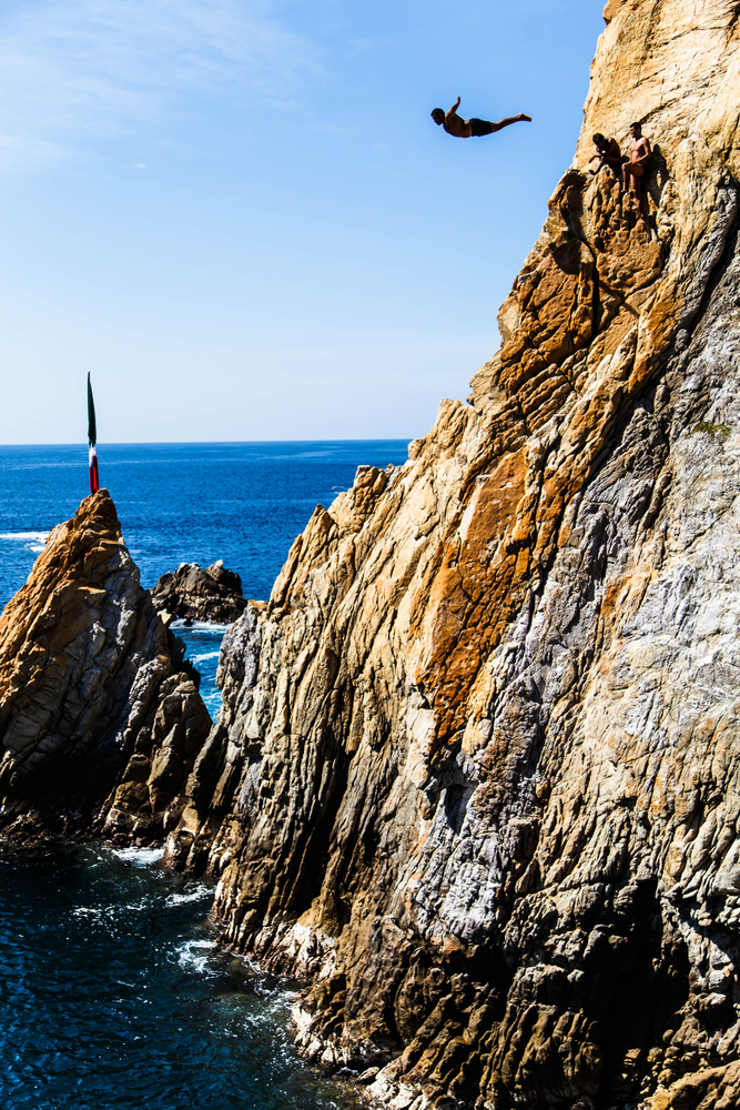Try Cliff Diving, Mexico