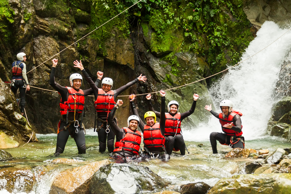canyoning expedition