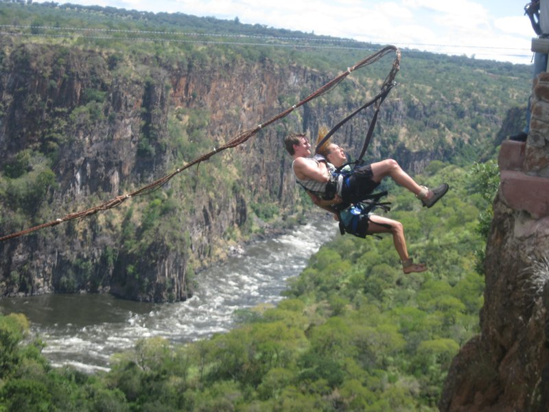 gorge swing, zambia