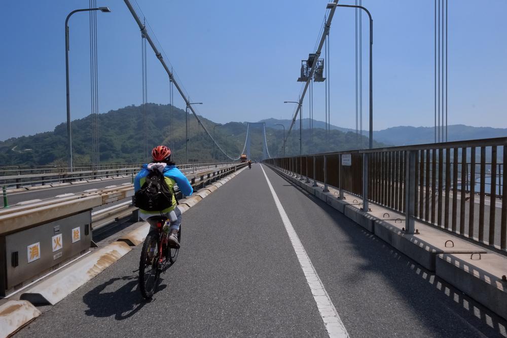 Cycle from Hiroshima to Shikoku