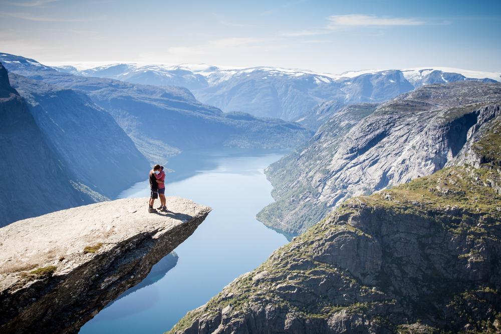 Trolltunga, Skjeggedal, Norway