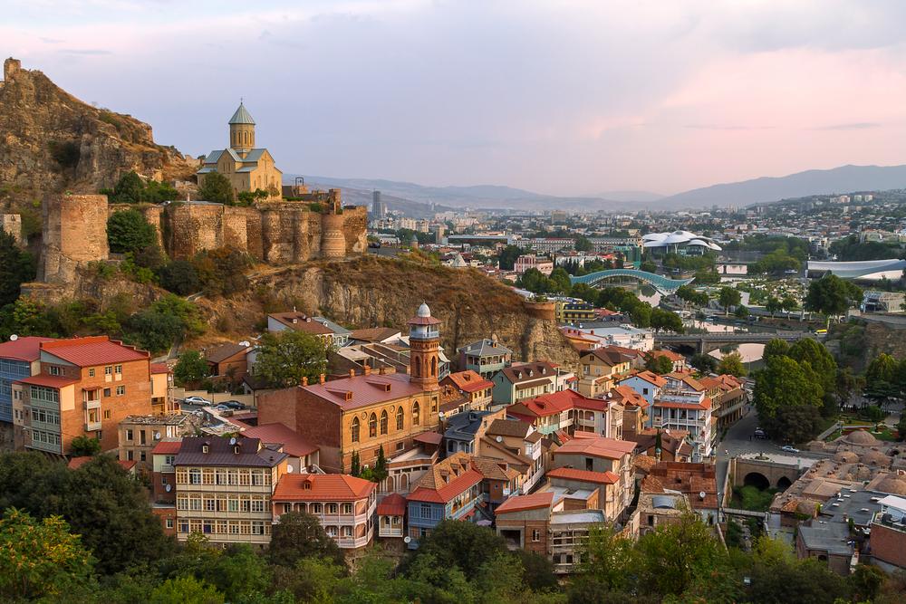 Enjoy the sounds of Tbilisi, Georgia