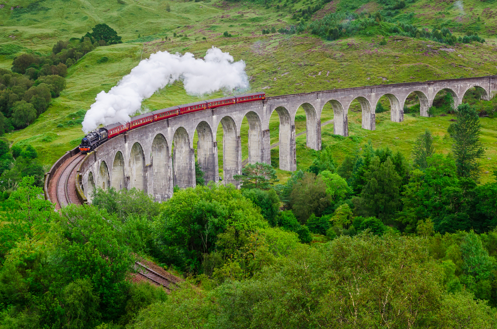 The Glenfinnan Viaduct, Scotland