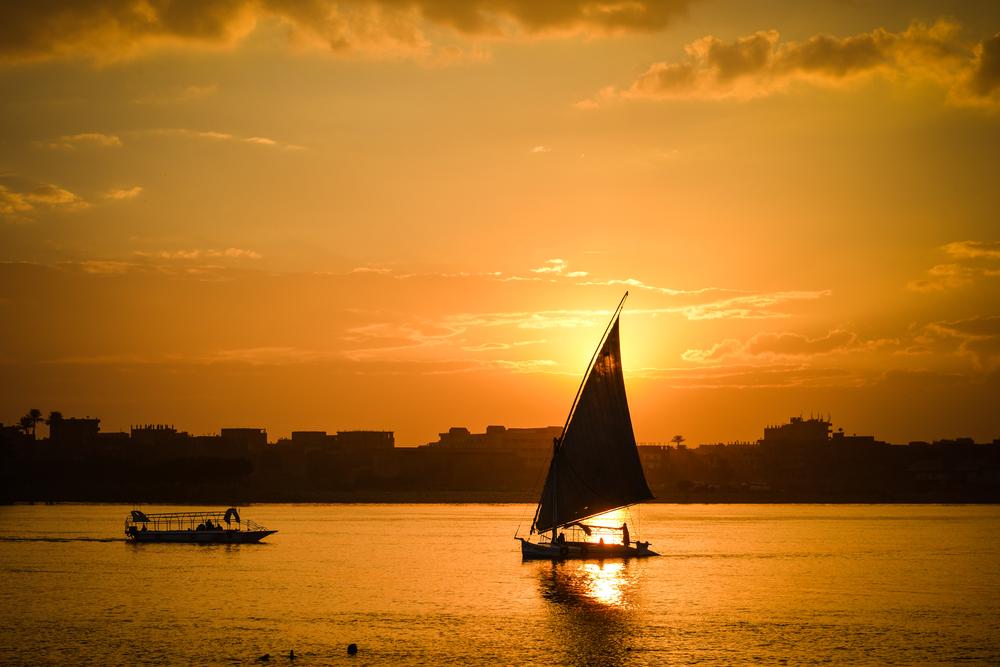 Aswan sunset