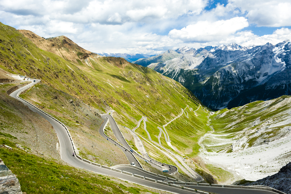 By Bike Climb The Earth's Spine in the Italian Alps