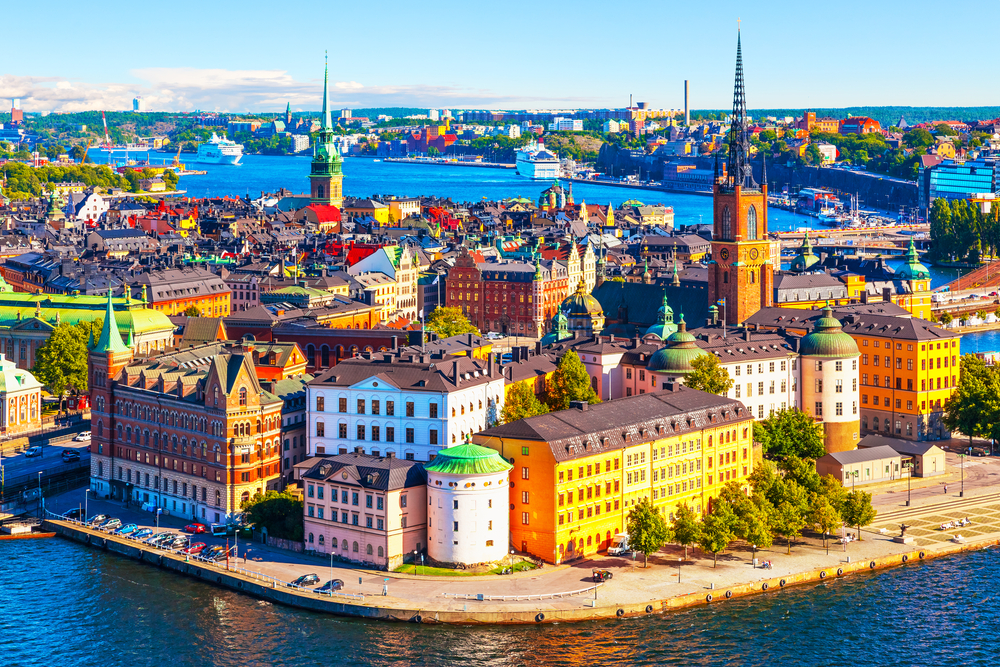 The Islands and Architecture of Stockholm