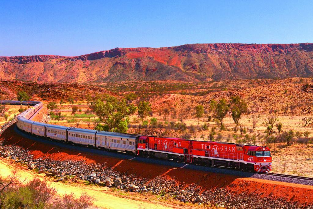 Ride the Ghan for the ultimate transcontinental trip