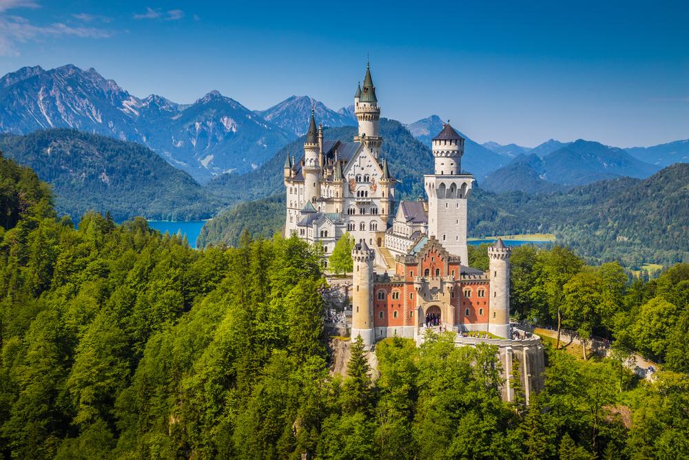 #1 Neuschwanstein Castle