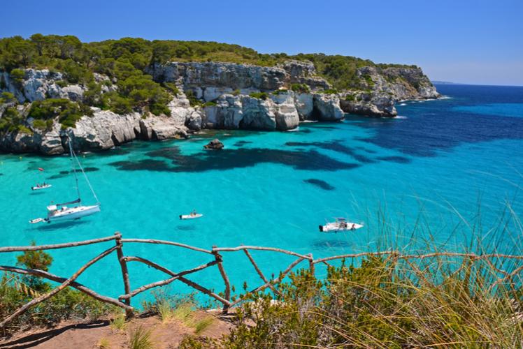 Cala Macarelleta, Menorca, Spain