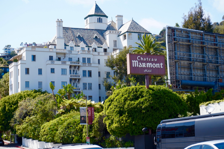 Chateau Marmont, Los Angeles, USA