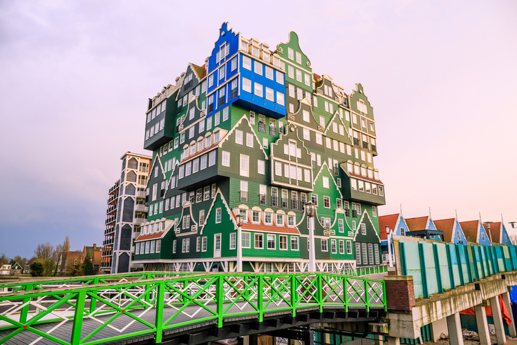 Hotel Inntel Zaandam, Amsterdam, Netherlands