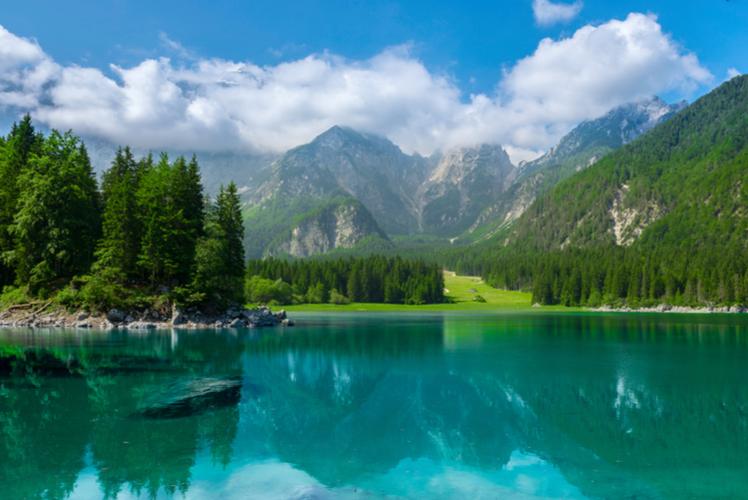 Laghi de Fusine, Italy