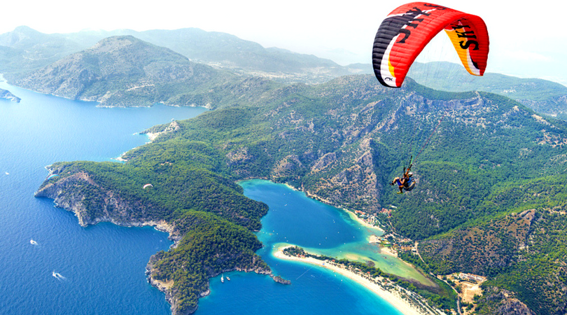 Oludeniz-paraglide
