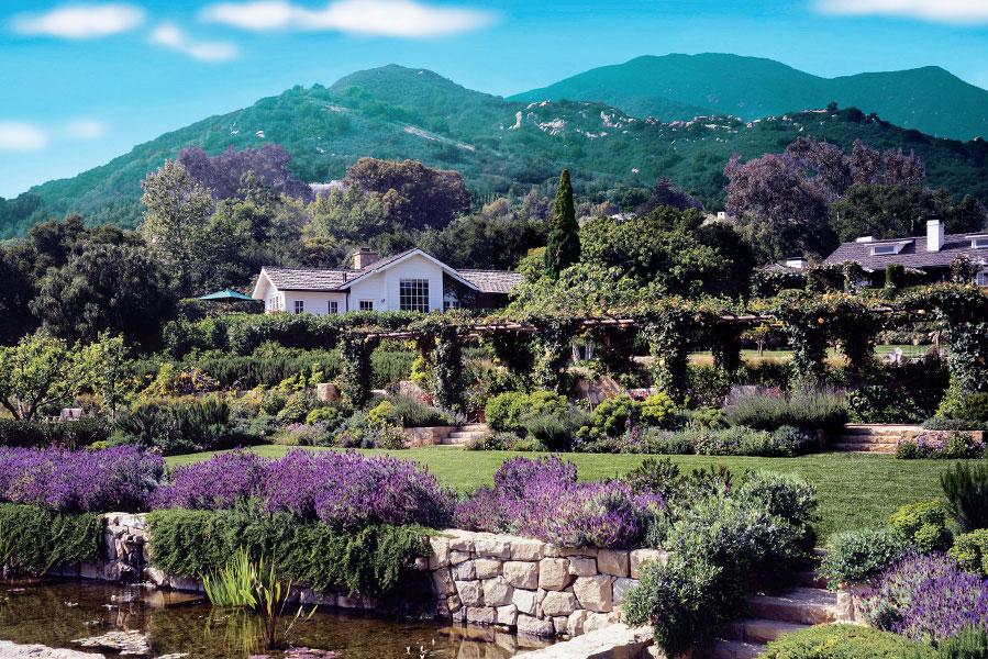 San Ysidro Ranch, Santa Barbara, California, USA