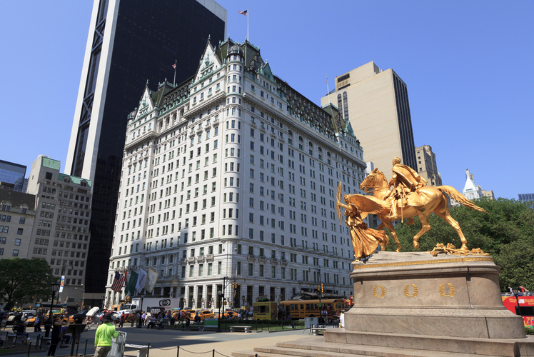 The Plaza Hotel, New York, USA