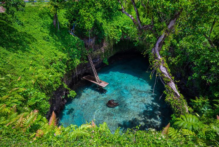ToSua Ocean Trench, Samoa