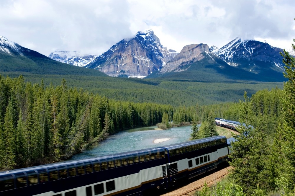 Rocky Mountaineer train