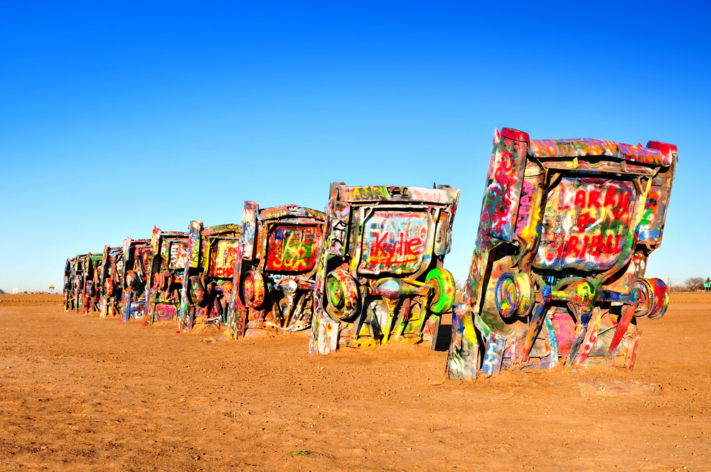 #5 Cadillac Ranch, Amarillo Texas