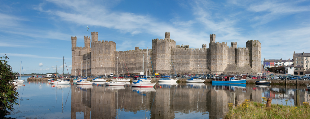 #7 Caernarfon Castle