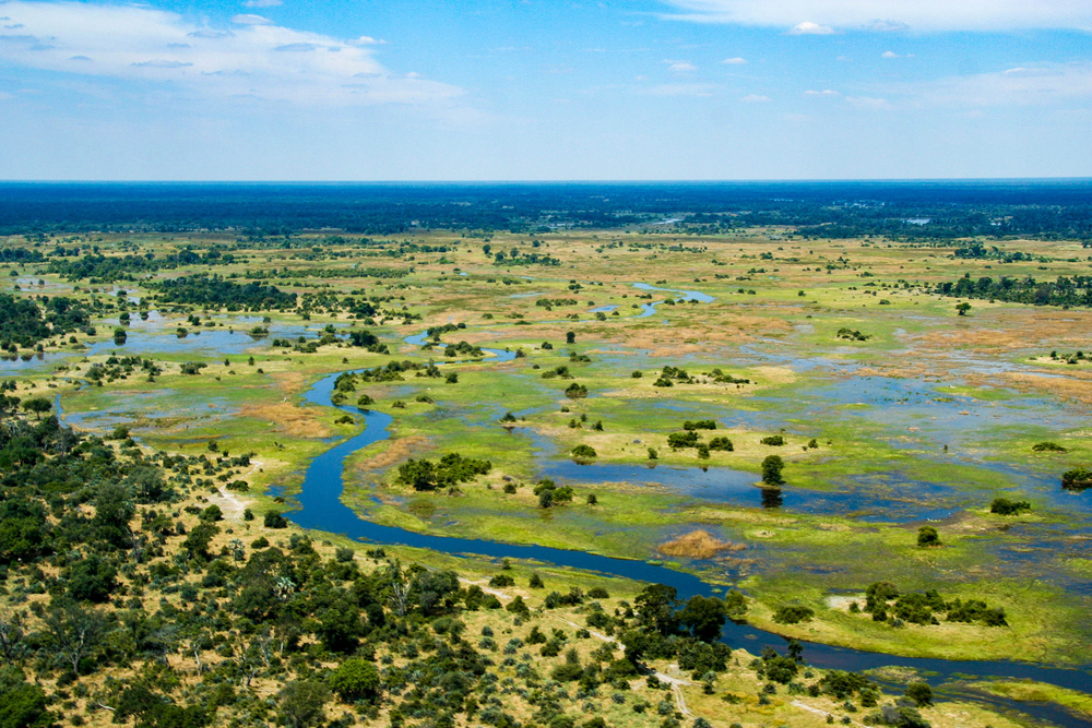 #3 Okavango Delta, Botswana